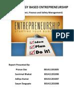 Technology Based Entrepreneurship