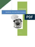 Instrucciones Chef Oh-menaje
