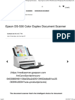 Epson DS-530 Color Duplex Document Scanner _ Workgroup Document _ Scanners _ for Work _ Epson US