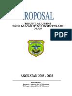 Deskripsi Proposal Reuni