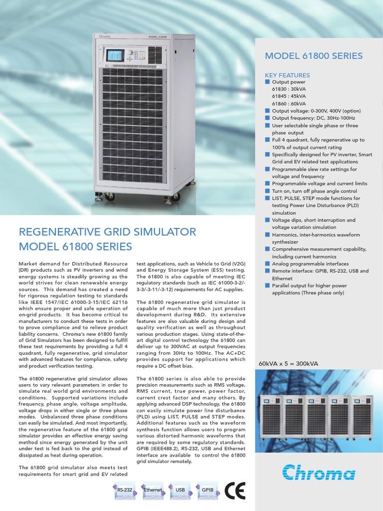 Grid Simulator | Power Inverter | Electrical Grid