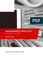 BAIN BOOK Management Tools 2017