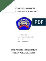 Tugas Penjasorkes Basket