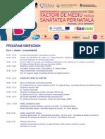 Program Simpozion Samas Noiembrie 2017