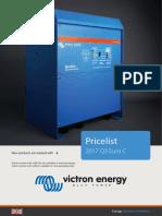 Web Pricelist EURO-C 2017 Q3 victron oferta