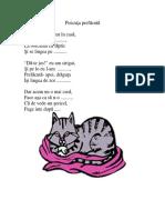 Pisicuta_prefacuta Poezie Cu Rime