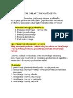 Funkcionalne oblasti menadzmenta