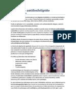 4. Síndrome antifosfolípido