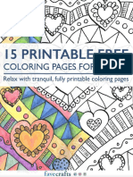 15 Free Printable Adult Coloring Pages.pdf