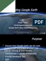 Extending Google Earth Presentation