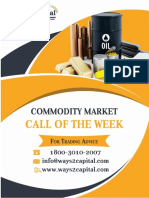 Commodity Research Report 21 November 2017 Ways2Capital