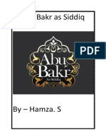 abu bakr as siddiq