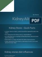 science part b - kidney stones