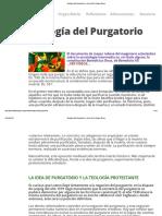 Teología Del Purgatorio