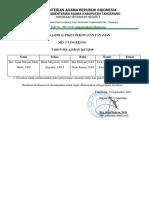 Surat Jadwal Perawatan Tanaman Min 3 Tangerang