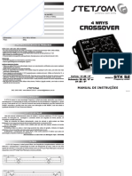 Manual Crossover Stx52 Stetsom