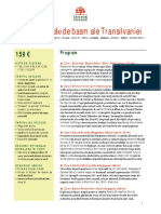Sibiul Si Cetatile de Basm Ale Transilvaniei - Senior Voyage 2018