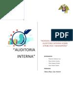 Auditoria Atributos y Desempeño