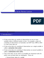 Review Lecture timeseries