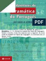 Jose Carlos de Azeredo - Fundamentos de Gramática Do Português