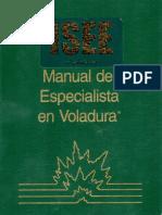 Manual Del Especialista en Voladura