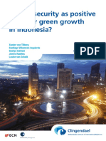 Energy-security Green Growth Indonesia