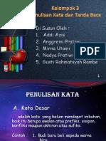 Bahasa Indonesia tentang Tanda Baca