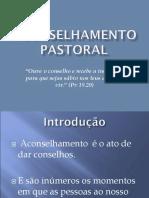 Aconselhamento Pastoral - Aula 01