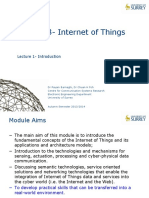 15.1 Internet of Things