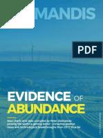 Evidence of Abundance