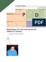 Metodologia A3 Como Instrumento de Melhoria Contínua
