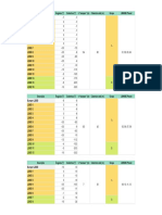 Vertcon Tabela de Configuração REV0