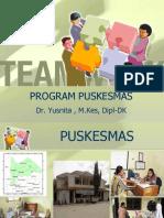 Bahan Kuliah Program PUSKESMAS-UPDATE