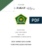 TUGAS Zakat