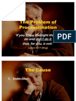 021020 - The Problem of Procrastination