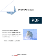 Spherical Excess and Sea Level Length