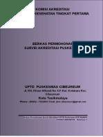 1. Aplikasi Berkas Pengajuan Survei PKM CIBEUREUM