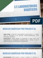 Modelos e Laboratórios Didáticos