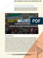 Current Affairs for IAS Exam (UPSC Civil Services)   gorkhaland movement  history, key events and recent agitations   Best Online IAS Coaching by Prepze