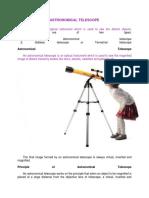 TELESCOPE Information