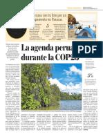 La Agenda Peruana Durante La COP23