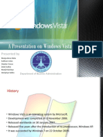 A Presentation on Windows Vista