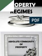 Property Regimes