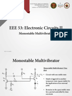 EEE 53 Lecture 13 Monostable Multivibrators Ver2