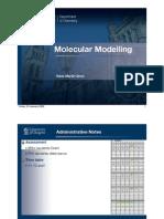 Molecular Modelling 2009-01-23