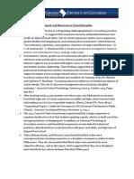 Statistics and Research Sheet - School Discipline
