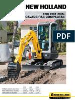 Escavadeira compacta