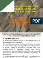 5.- Efectos Secundarios Erosion Dec en Piletas Contaminacion Ambiental y de Cemento 2016
