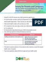 IPV Advisory
