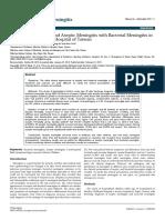 Comparison of Childhood Aseptic Meningitis With Bacterial Meningitis Ina Tertiary Childrens Hospital of Taiwan Jomg 1000103